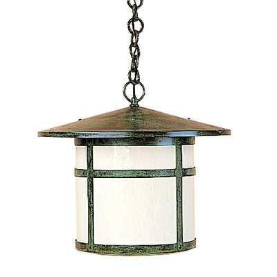 Berkeley 1-Light Mini Pendant Shade Color: White Opalescent, Size: 14.88 H x 17 W