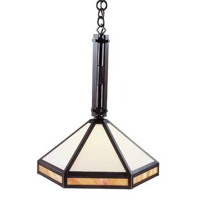 Etoile 1-Light Foyer Pendant Finish: Antique Brass
