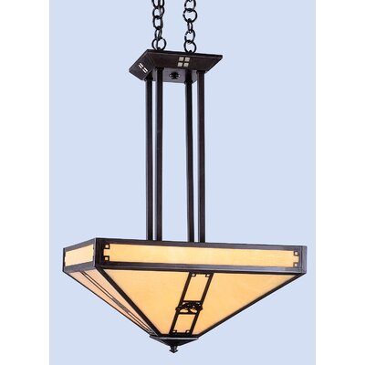 Pasadena 4-Light Inverted Foyer Pendant
