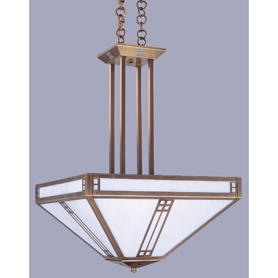 Prairie 4-Light Inverted Foyer Pendant
