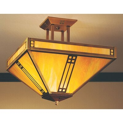 Pasadena 4-Light Semi Flush Mount