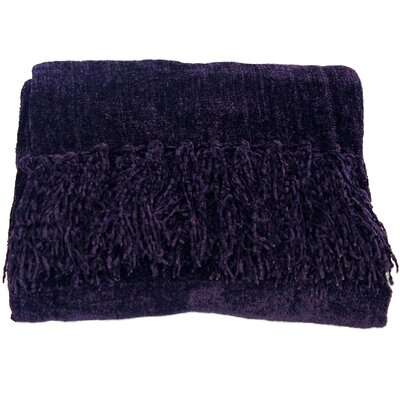 WovenWorkz Susan Throw Blanket - color: Purple at Sears.com