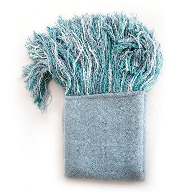 Lola Throw Blanket Color: Marine