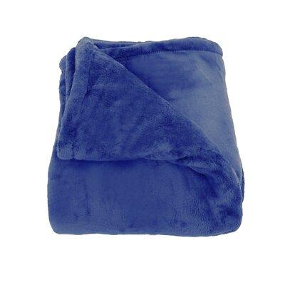 Oh So Soft Blanket Color: Blue
