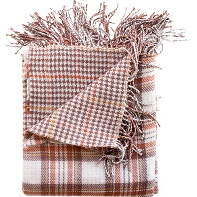 Madison Throw Blanket Color: Camel