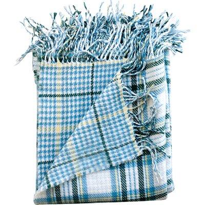 Madison Throw Blanket Color: Denim