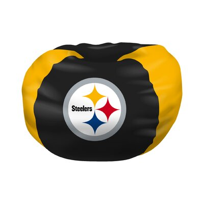 NFL Bean Bag Chair NFL Team: Pittsburgh Steelers