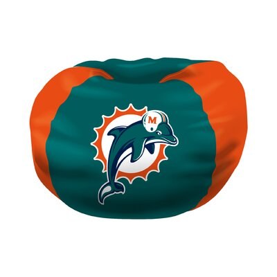 NFL Bean Bag Chair NFL Team: Miami Dolphins