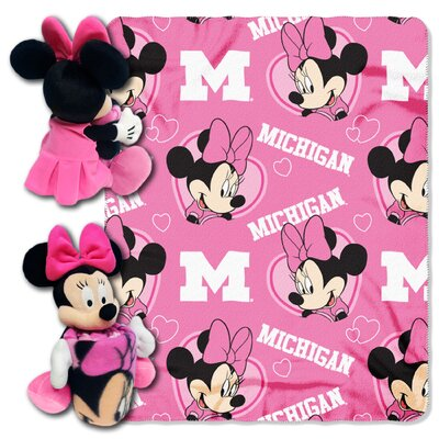NCAA Minnie Hugger Throw NCAA Team: Michigan Wolverines