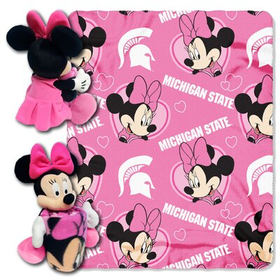 NCAA Minnie Hugger Throw NCAA Team: Michigan State Spartans 1COB038012031RET