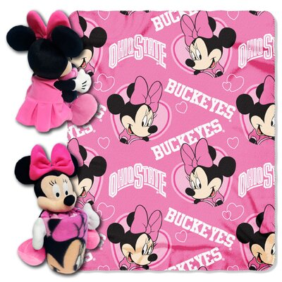 NCAA Minnie Hugger Throw NCAA Team: Ohio State Buckeyes 1COB038012007RET