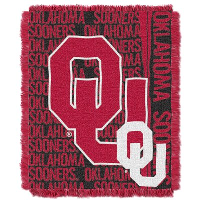 Collegiate Oklahoma Double Play Acrylic Throw