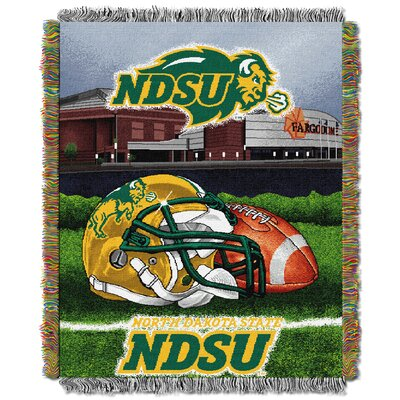 Collegiate North Dakota State HFA Woven Tapestry Throw