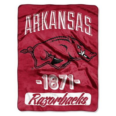 Collegiate Arkansas Varsity Raschel Throw