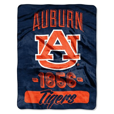 Collegiate Auburn Varsity Raschel Throw