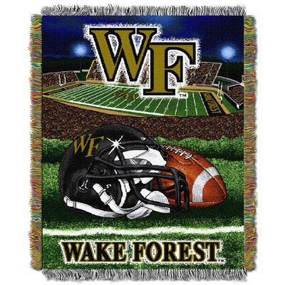 Collegiate Wake Forest HFA Woven Tapestry Throw