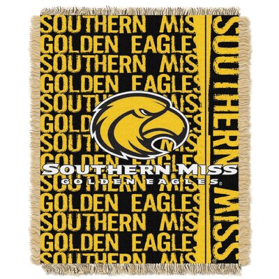 Collegiate Southern Mississippi Double Play Throw