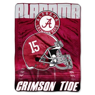 Collegiate Alabama Overtime Micro Raschel Throw