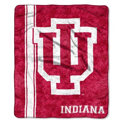 Collegiate Indiana Sherpa Throw