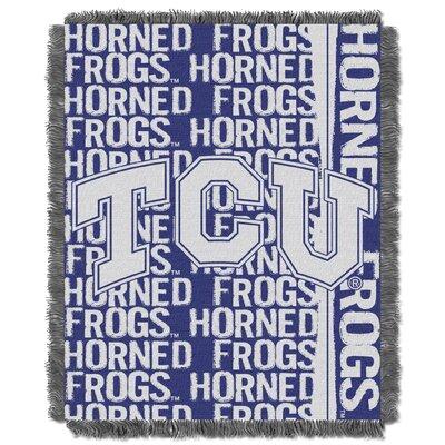 Collegiate TCU - Texas Christian Double Play Acrylic Throw