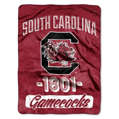 Collegiate South Carolina Varsity Raschel Throw