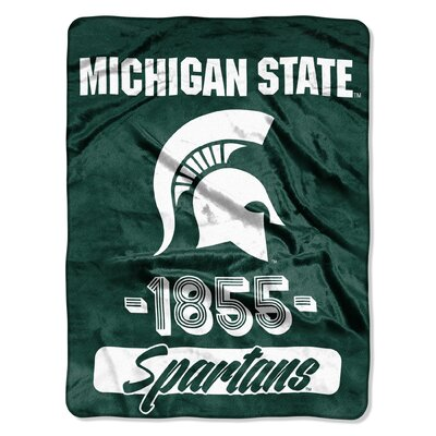 Collegiate Michigan State Varsity Raschel Throw