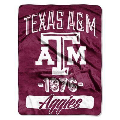 Collegiate Texas A&M Varsity Raschel Throw