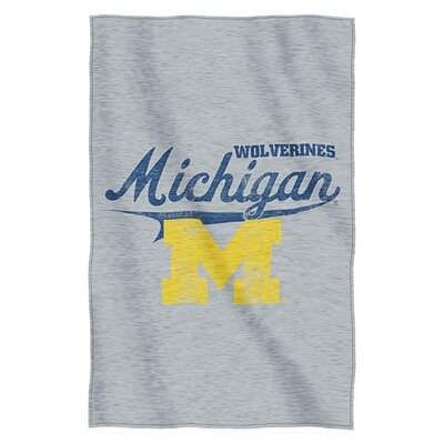 Collegiate Michigan Throw Blanket