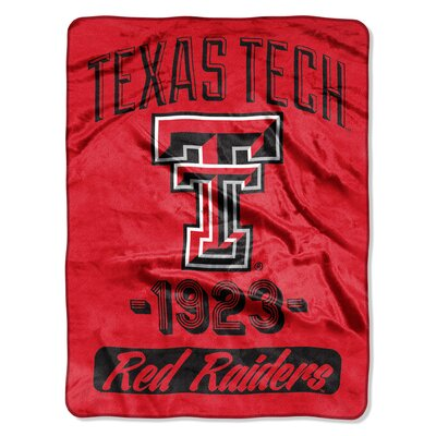 Collegiate Texas Tech Varsity Raschel Throw