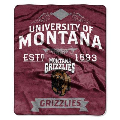Collegiate Montana Label Raschel Throw