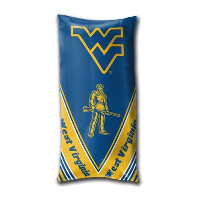 Collegiate West Virginia Folding Body Pillow