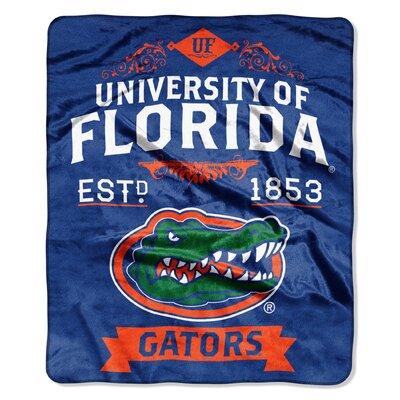 Collegiate Florida Label Raschel Throw