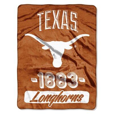 Collegiate Texas Varsity Raschel Throw