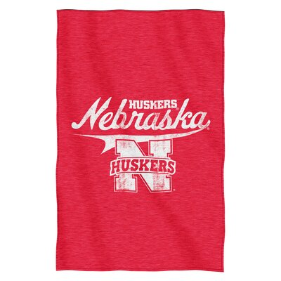 Collegiate Nebraska Throw Blanket
