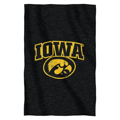 Collegiate Iowa Throw Blanket