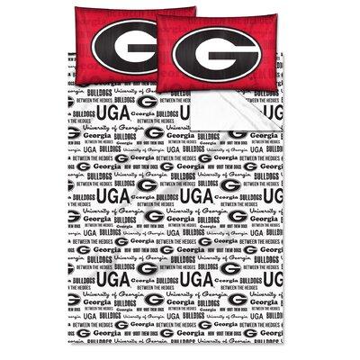 Collegiate Anthem Georgia Sheet Set Size: Twin