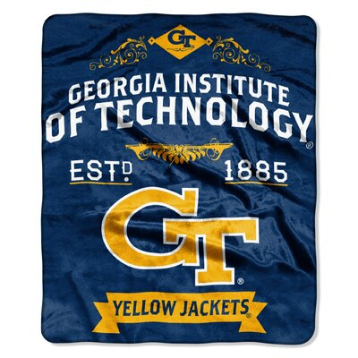 Collegiate Georgia Tech Label Raschel Throw
