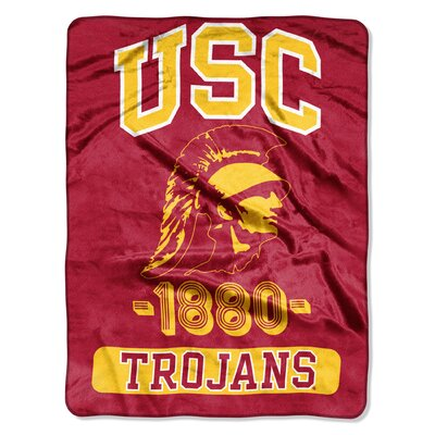 Collegiate USC Varsity Raschel Throw