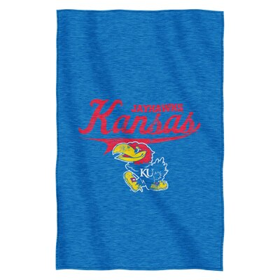 Collegiate Kansas Throw Blanket