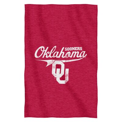 Collegiate Oklahoma Throw Blanket