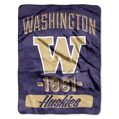 Collegiate Washington Varsity Raschel Throw