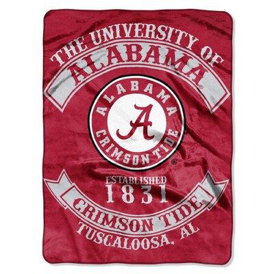 Collegiate Alabama Rebel Raschel Throw