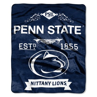 Collegiate Penn State Label Raschel Throw
