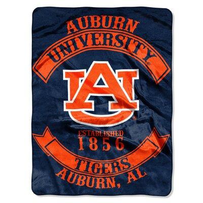 Collegiate Auburn Rebel Raschel Throw