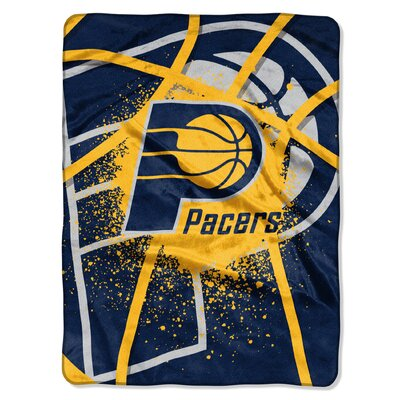 NBA Pacers Shadow Play Raschel Throw