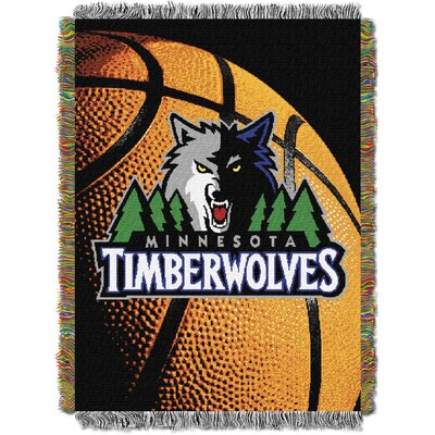 NBA Timberwolves Photo Real Tapestry Throw