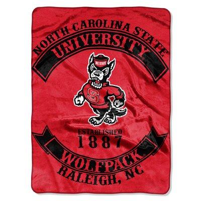 Collegiate NC State Rebel Raschel Throw
