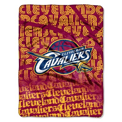 NBA Cavaliers Redux Raschel Throw