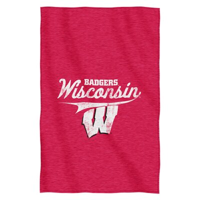 Collegiate Wisconsin Throw Blanket