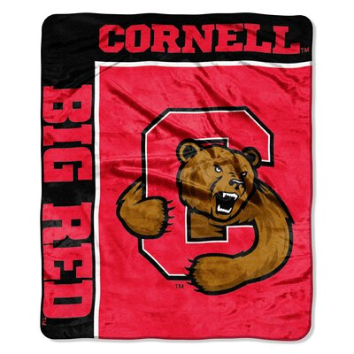 Collegiate Cornell School Spirit Raschel Throw